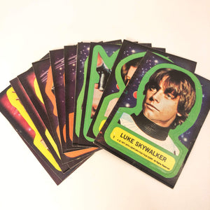 Vintage Topps Star Wars Trading Cards Star Wars Series 1 Sticker Set (Topps/OPC)