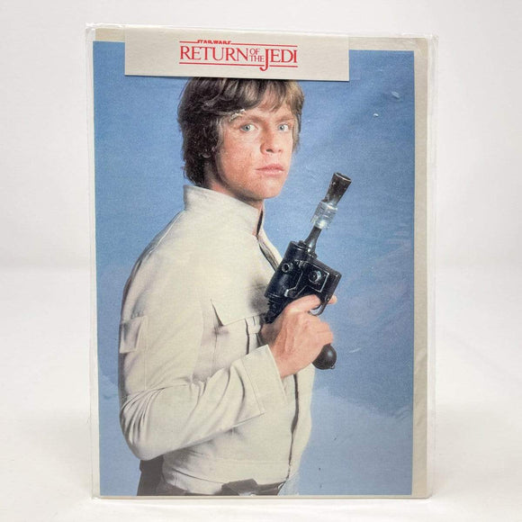 Vintage Westbrook Publications Star Wars Non-Toy Luke Bespin ROTJ Greeting Card w/ Envelope - UK (1983)