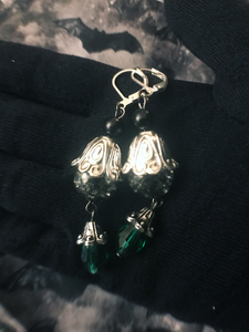 Findings from the Void Earrings (Storm Grey/ Absinthe)