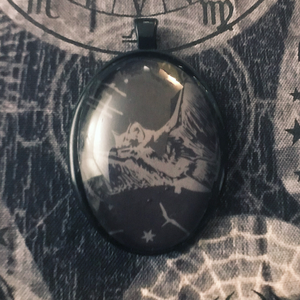 Bat Bitch Pendant