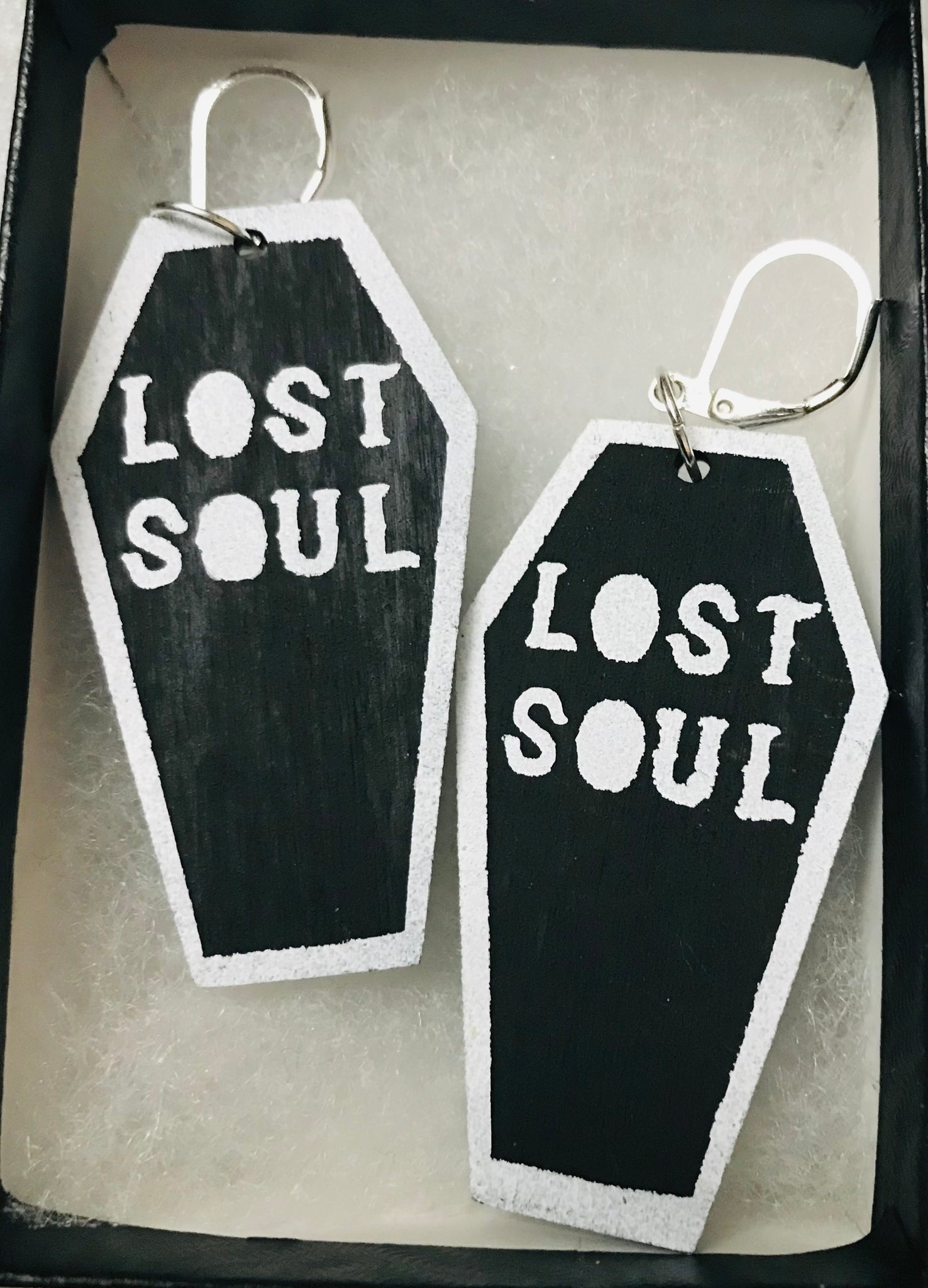 Lost Soul Coffin Earrings
