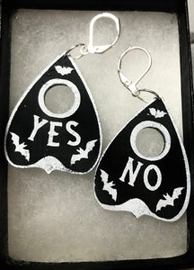 Maybe So Planchette Earrings (Pointy Side Up)