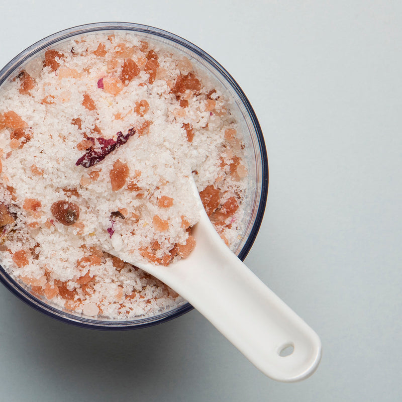 Rose Coconut Milk Bath Soak