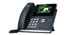 "Yealink T46S IP Phone, 16 Lines.  4.3"" 480 x 272 pixel Color Display backlight, Dual-Port Gigabit Ethernet, 802.3af PoE, SIP-T46S"