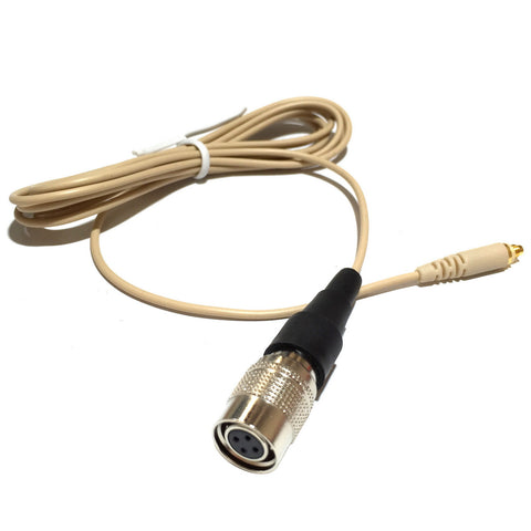Microdot AC4016ATL Detachable Cable With 4 Pin Hirose type Connector for 4016 Headset Headworn Microphone - Audio Technica Wireless