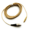 Microdot AC4016SSL Detachable Cable With LEMO type 3-Pin Connector for 4016 Headset Headworn Microphone - Shure Sennheiser Wireless