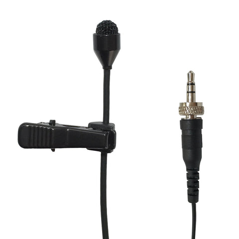 Microdot 6016 Pro Lavalier Lapel Microphone For Wireless Transmitter - Omni-directional Condenser Mic