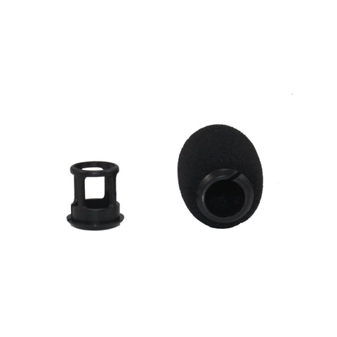 YPA MMW5 Snap-Fit Microphone Windscreens FOR SHURE BETA98 MX 2 Pack (Black)