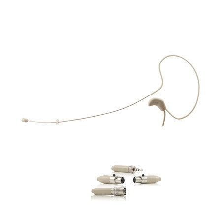 YPA MM4 Earset Single Headset Microphone For Wireless Bodypack Transmitter Mic System