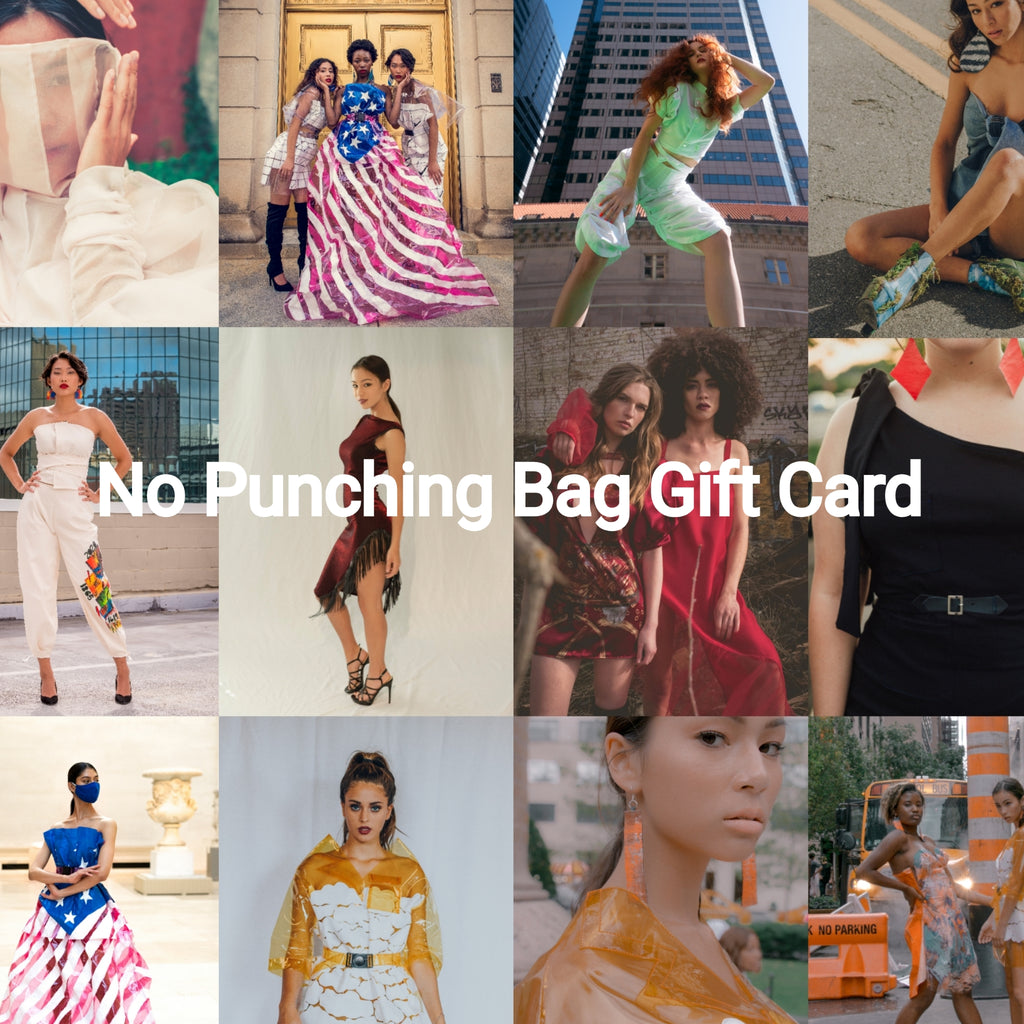 No Punching Bag Gift Card
