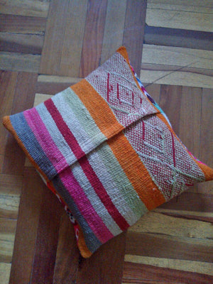 embroidered cushions (custom-made)