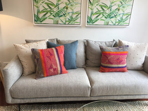 artisan cushions (made by local artisans)
