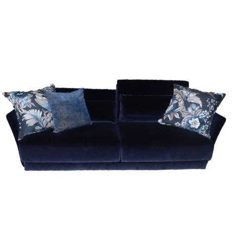 Sofá UP Sancal Blue Velvet