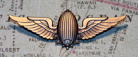 Airship Wing Pin