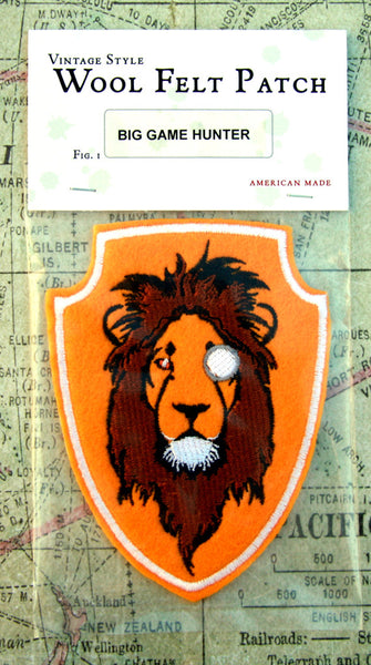 Royal Safari Wool Felt Patch