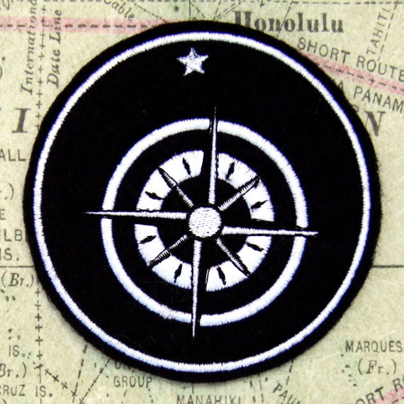 Explorer's Badge Wool Felt Patch