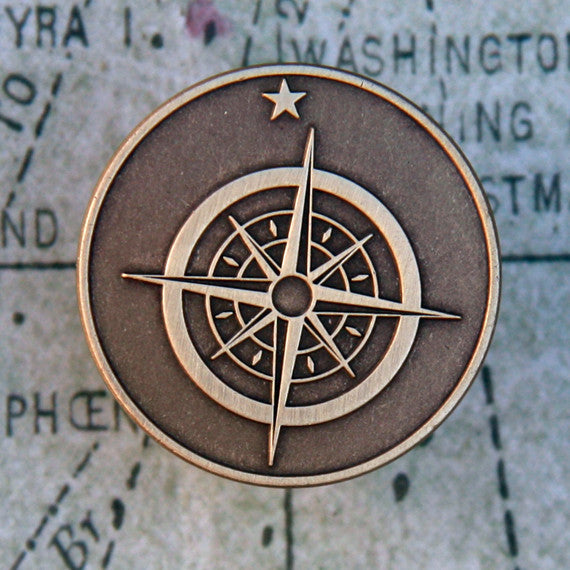 Explorer's Badge Pin