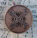 Mechanic's Badge Pin