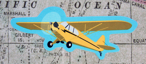 Piper Cub Vinyl Sticker