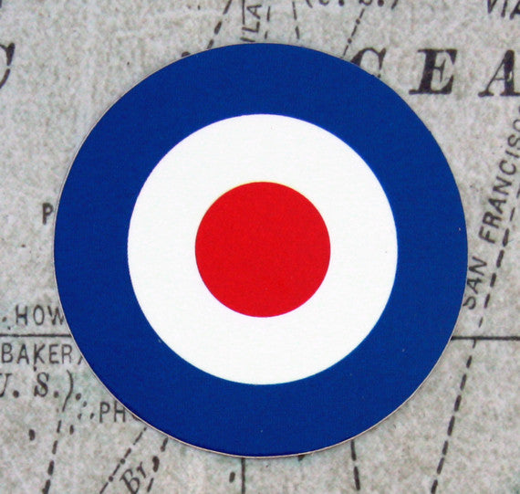 UK Aircraft Roundel Vinyl Sticker
