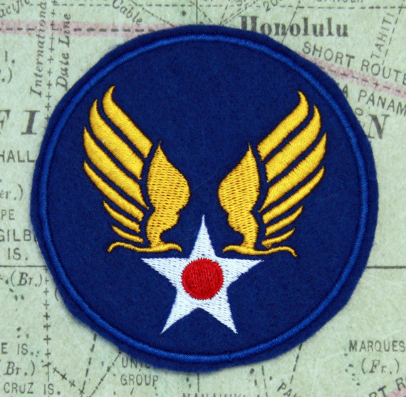 WWII Army Air Force Wool Felt Patch
