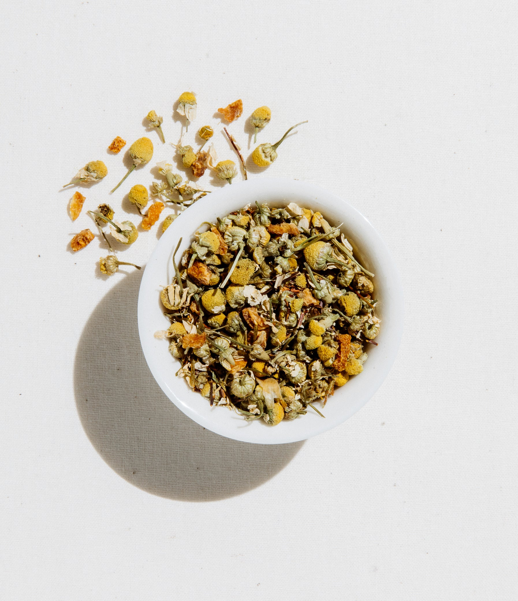 Chamomile Clementine Tea Organic Loose Leaf 4 oz Zip Pouch by Art of Tea