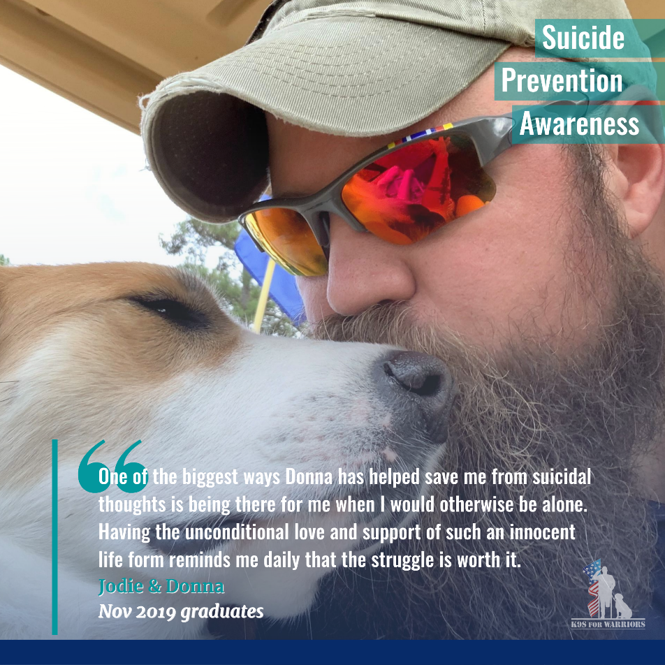 K9s for Warriors: Service Dogs Fighting the Veteran Suicide Epidemic