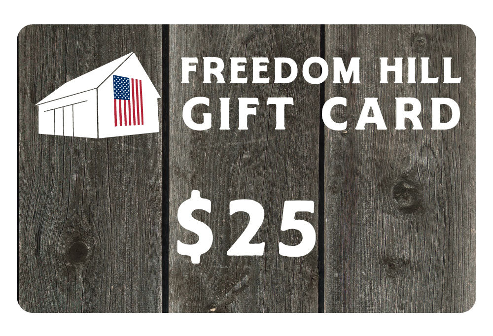 FREEDOM HILL GIFT CARD