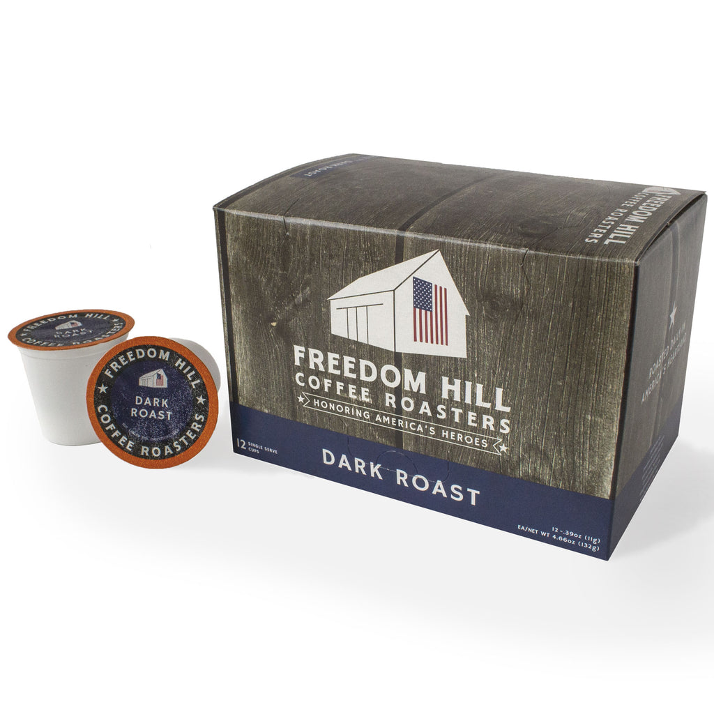 DARK ROAST COFFEE PODS