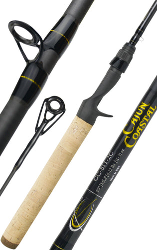 Cajun Coastal™ 812:  6 ft. 9 in.  /  Meduim Power  /  Fast Action