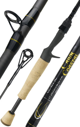Cajun Coastal™ 811:  6 ft. 9 in.  /  Medium Light Power  /  Fast Action