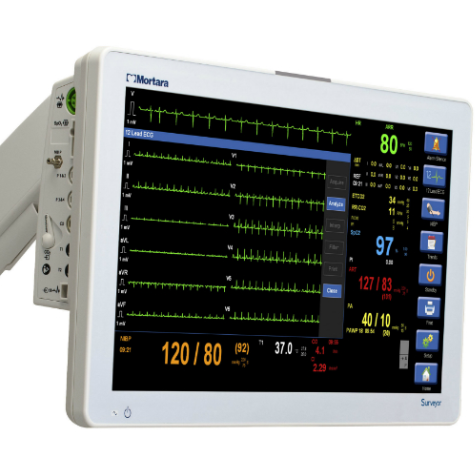 Refurbished Mortara Surveyor S19 Patient Monitor with CO2