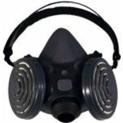 Comfort-Air Series 300 Half Mask Respirator with N95 filters, Size Medium/Large
