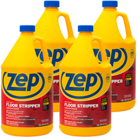 Zep Heavy-Duty Floor Stripper 128 oz. (Case of 4) Removes Stubborn Finishes and Heavy Buildup!