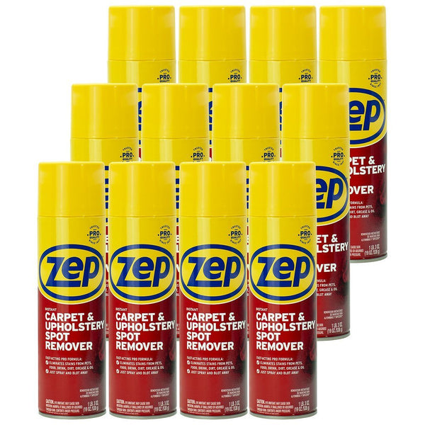 Zep Instant Spot and Stain Remover 19 oz. (Case of 12)