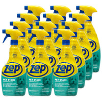 Zep Pet Stain and Odor Remover 32 oz. (Case of 12) Ready to Use Formula