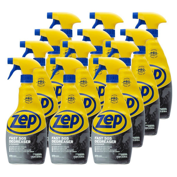 Zep Fast 505 Cleaner & Degreaser 32 Ounces ZU50532
