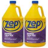 Zep Shower Tub and Tile Cleaner 128 oz. (Case of 2)
