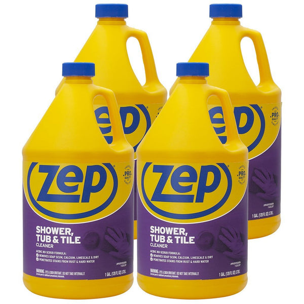 Zep Shower Tub and Tile Cleaner 128 oz. (Case of 4)