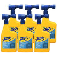 Zep Hose-End Outdoor Cleaner 32 oz. (Case of 6) Leaves Streak-Free Finish