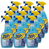 Zep Plexiglass Window Cleaner 32 oz. (Case of 12) Great for Plexiglass, Face Shields & Tinted Windows (please see description for state restrictions)