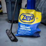 Zep Hard Floor Sweeping Compound (1) 50 lb. bag - Captures Dust and Dirt While Sweeping