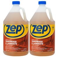 Zep Hardwood and Laminate Floor Cleaner 128 oz. (Pack of 2) - Use To Refill Spray Mops