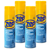 Zep Foaming Wall Cleaner 18 oz. (Case of 4) - Lifts Away Stains Without Damaging Finishes