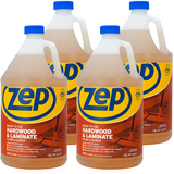 Zep Hardwood and Laminate Floor Cleaner 128 oz. (Case of 4) Use It To Refill Your Spray Mop!
