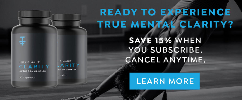 Discount on Clarity Lion's Mane Brain Supplement with Subscribe and Save