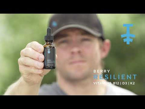 Resilient | Oral Vitamin Tincture Formula | Natural Berry Flavor