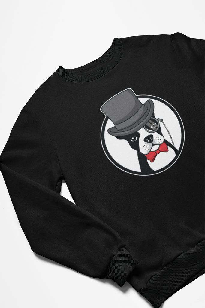 Boston Terrier Crewneck Sweatshirt
