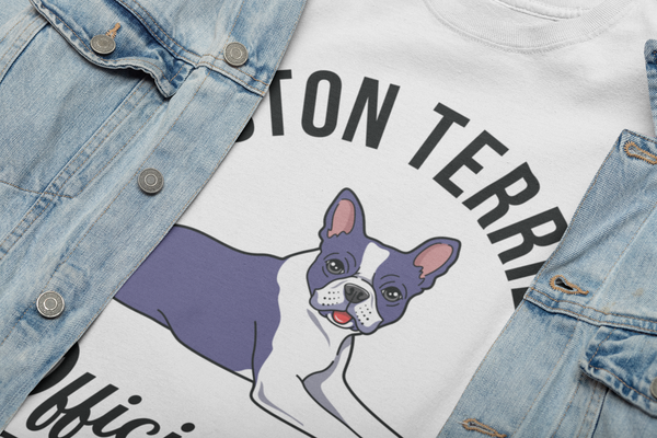 Official Dog of the Coolest People - T-shirt Close Up
