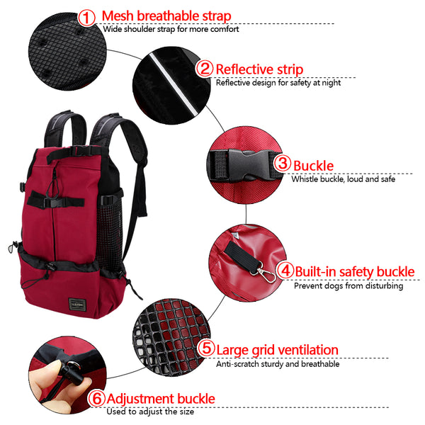 Dog Carrier Backpack Features